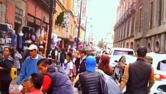 Extorsionan y secuestran a comerciantes del Centro Histórico de la CDMX