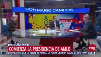 Cómo inicia la presidencia de AMLO