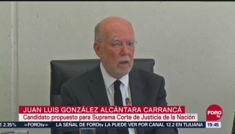 Comparece Aspirante Suceder José Ramón Cossío SCJN