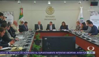Comparecen candidatos a SCJN ante Comisión de Justicia del Senado