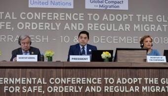 ONU: Pacto Migratorio mundial es aprobado por 150 países