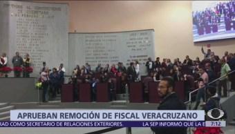 Congreso de Veracruz aprueba destitución de Jorge Winckler de la Fiscalía