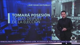 Congreso nombrará a gobernador interino en Puebla