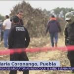 Continúa en resguardo zona donde cayó helicóptero en Puebla