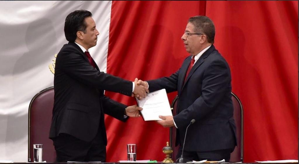 Cuitláhuac García rinde protesta como gobernador de Veracruz