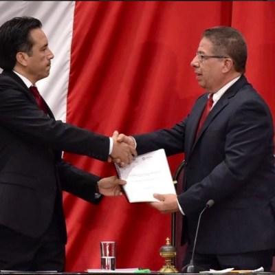 Cuitláhuac García presenta declaratoria de crisis en materia de desaparición en Veracruz
