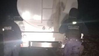 Policía Federal asegura más de 50 mil litros de hidrocarburo en 4 estados