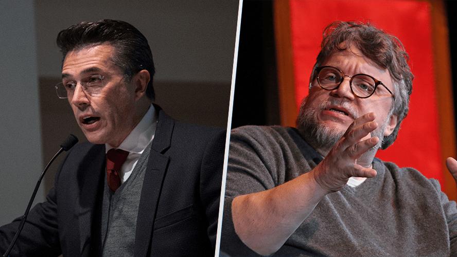 Del Toro y Sergio Mayer acuerdan fortalecer el FICM