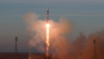 Rusia lanza viaje tripulado a EEI desde percance de Soyuz