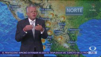 Despierta con Tiempo: Lluvias fuertes en sureste y Península de Yucatán