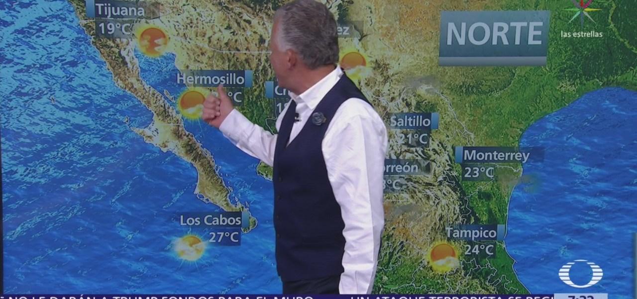 Despierta con Tiempo: Prevén caída de nieve en Chihuahua y Durango
