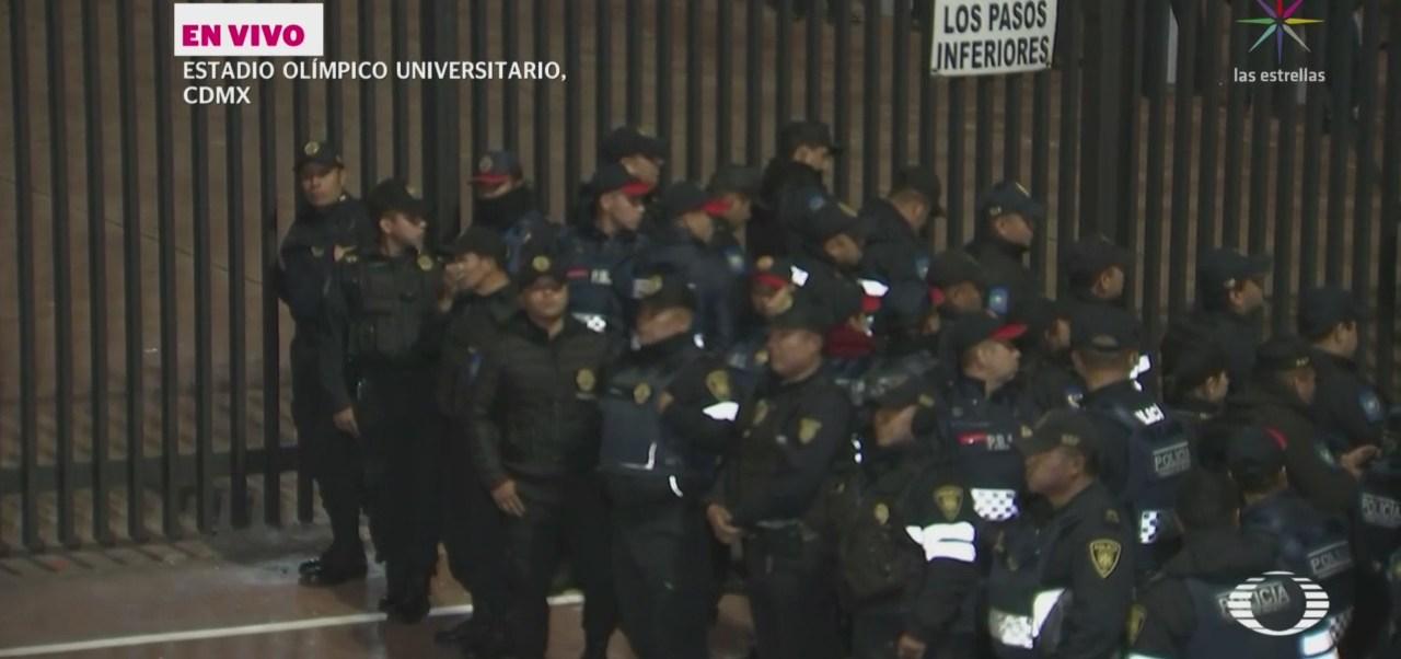 Despliegan Cinco Mil Elementos Policíacos Semifinal Futbol Mexicano