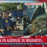 Detienen a presunta líder de migrantes en Tijuana