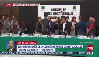Diputados analizan proyecto para crear Guardia Nacional