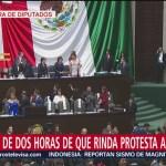 Diputados inician sesión solemne para toma de protesta de AMLO