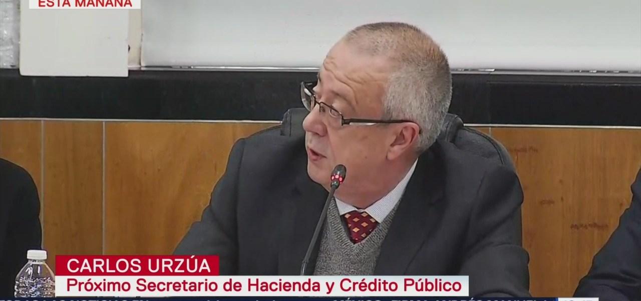 Diputados ratifican en comisiones a Carlos Urzúa en SHCP