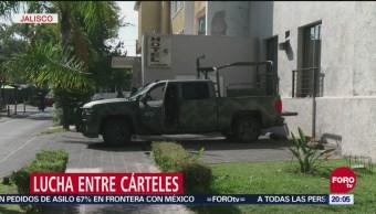 Disputas Entre Cárteles Genera Violencia Tamaulipas Jalisco