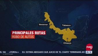 Dónde Terminan Los Autos Robados en México