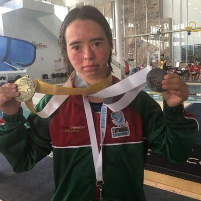 Dunia Camacho Marenco, la mejor nadadora con Síndrome de Down