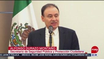 Durazo recibe la Comisión Nacional de Seguridad