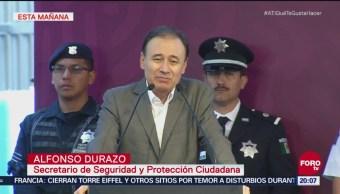 Durazo Reconoce Emergencia Seguridad En México