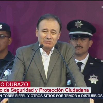 Durazo reconoce emergencia en seguridad en México