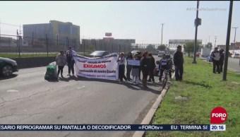 Ecatepec Protestan Lenta Reconstrucción Escuela Sismo 19-S