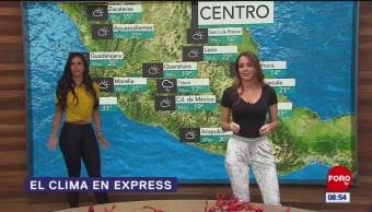 El clima en Express del 10 de diciembre de 2018