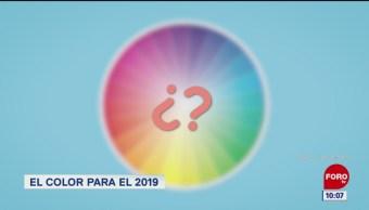 El color para el 2019