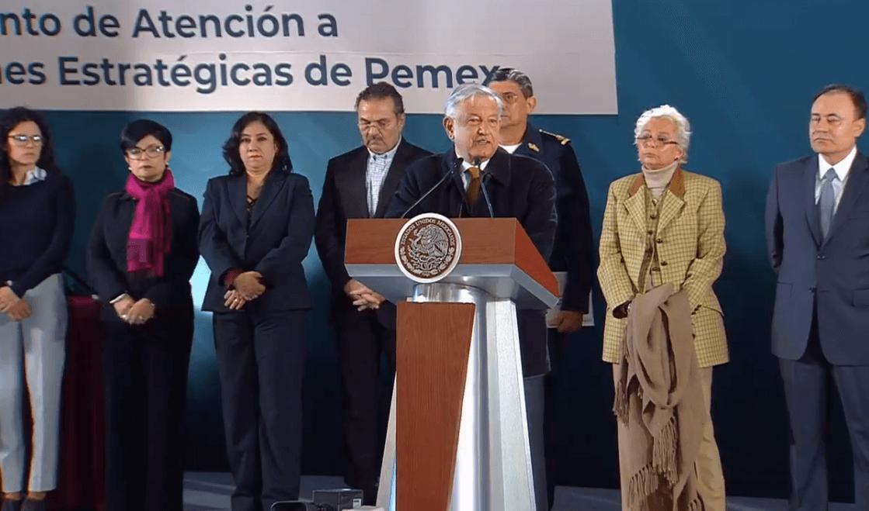 El presidente López Obrador en conferencia de prensa. (YouTube)