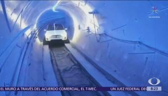 Elon Musk inaugura primer tramo de túnel de alta velocidad en EU