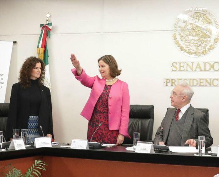 Martha Bárcena rinde protesta como embajadora de México en EU