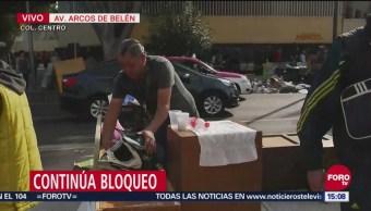 En breve podrían liberar vialidad en Arcos de Belén, CDMX