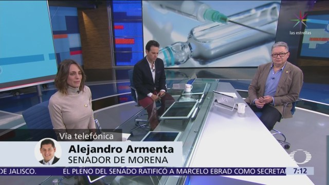 En Despierta, Alejandro Armenta, quien propone castración química a violadores