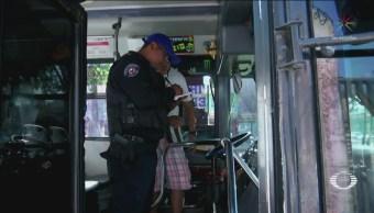 Iztapalapa Suben Policías Transporte Público Evitar Asaltos