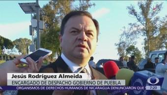 Encargado de despacho notificará ausencia de gobernadora de Puebla