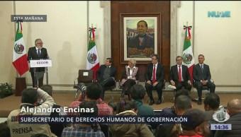 Política migratoria estará fundada en respeto a derechos humanos
