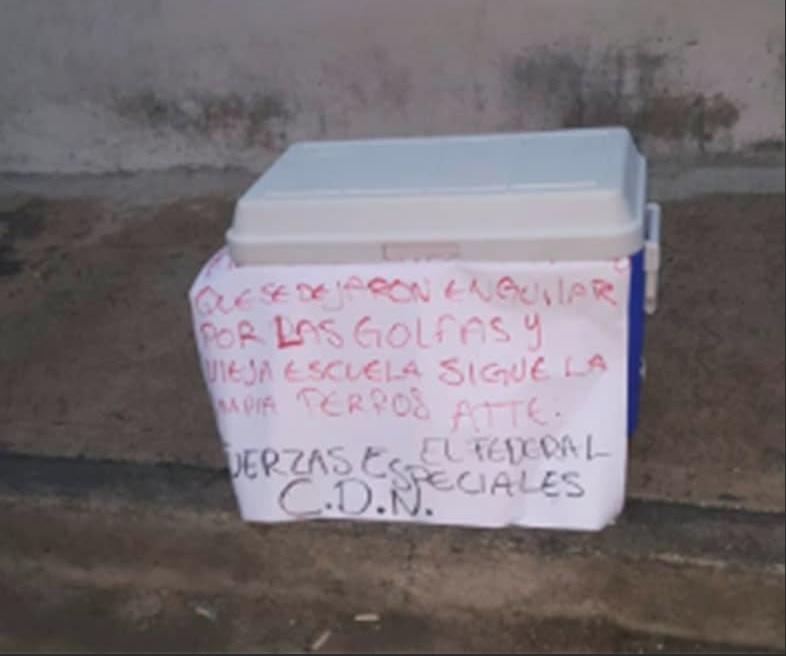 Encuentran restos humanos en Cadereyta, Nuevo Leon