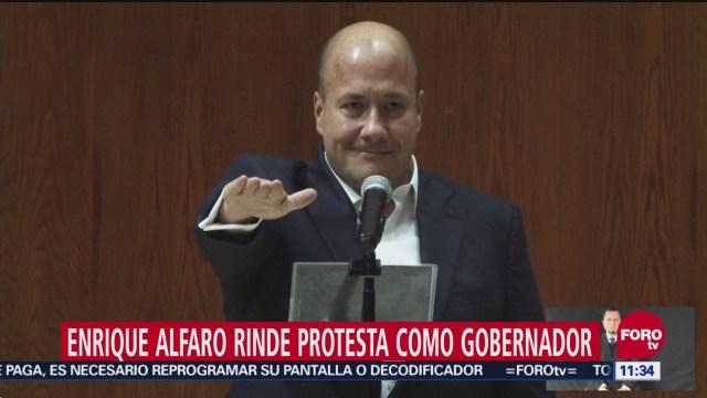 Enrique Alfaro Ramírez rinde protesta como gobernador de Jalisco