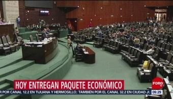 Este Sábado Se Entrega A Diputados El Paquete Económico 2019