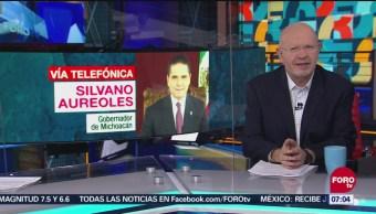 Aureoles: AMLO muestra sensibilidad a propuesta de gobernadores sobre seguridad