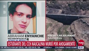 Estudiante CCH Naucalpan Murió Por Ahogamiento