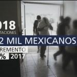 EU deportó a 142 mil mexicanos este año