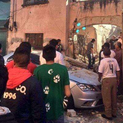 Explosión de tanque de gas causa derrumbe en una casa en la GAM; hay un muerto