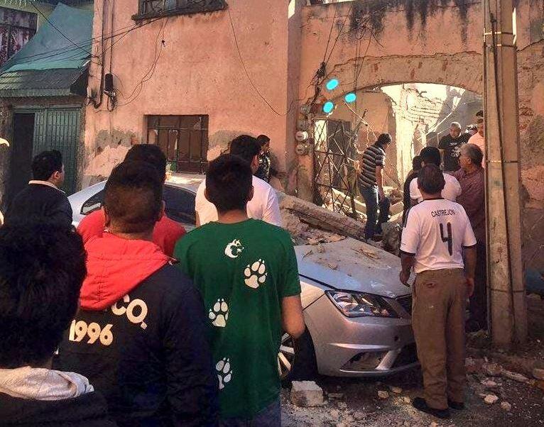 Explosión de gas en vivienda de la GAM deja persona atrapada