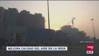 Mejora calidad del aire en la India
