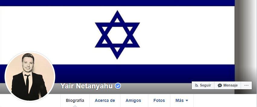 Facebook bloquea al hijo de Netanyahu por mensajes racistas