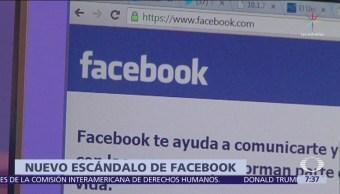Facebook dio datos de miles de usuarios a gigantes tecnológicos