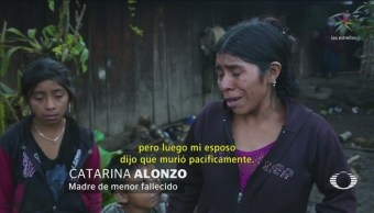 Familia Niño Guatemalteco Muerto Salió Buena Salud
