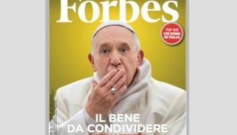 Llevan al Papa Francisco a la portada de la revista Forbes